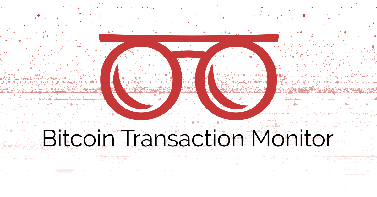 Image for Bitcoin Transaction Monitor