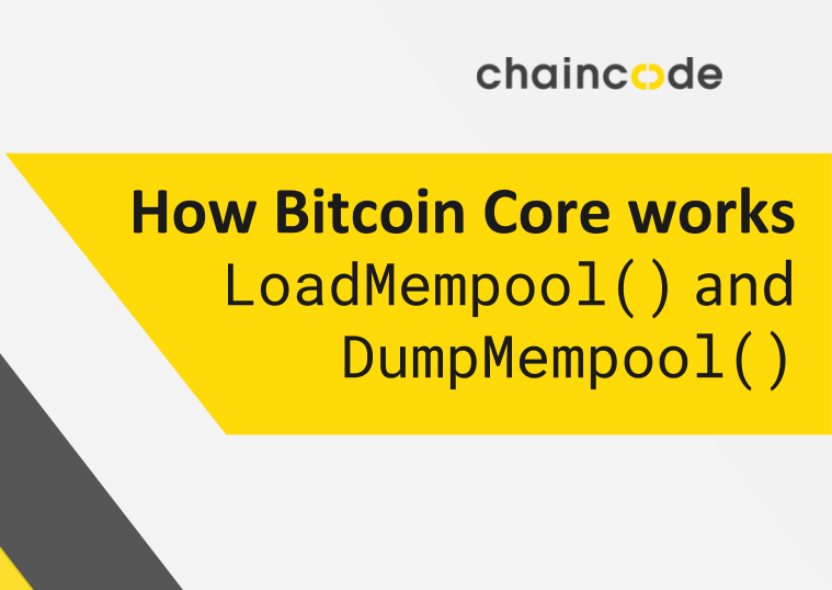 Image for How Bitcoin Core works: LoadMempool() and DumpMempool()